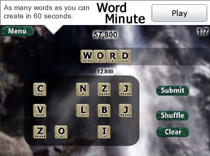Play Word Minute