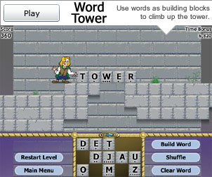 Play Word Tower